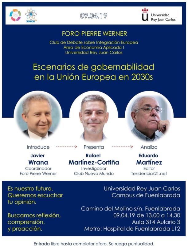 Nuevo debate sobre gobernabilidad europea en 2030