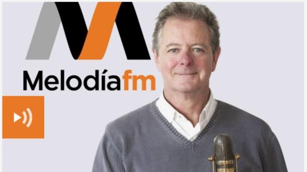 """Juan Luis Cano, director del programa de Melodía FM  """"Las piernas no son del cuerpo""""."""