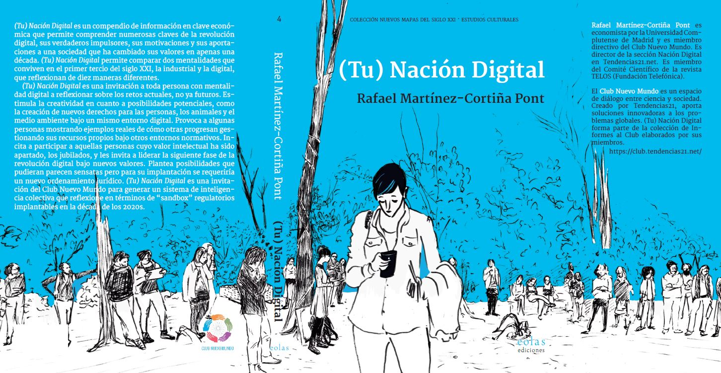 """Se presenta en Madrid el libro """"(tu) Nación Digital"""""""