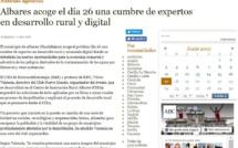 Los medios de comunicación destacan la reunión del Club Nuevo Mundo en Albares