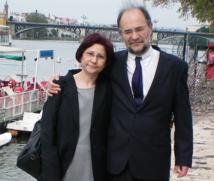 Victoria López y Eduardo Costas.