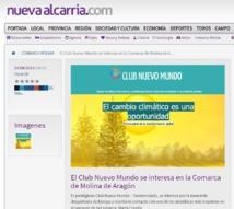 El Club Nuevo Mundo inicia actividades en Molina de Aragón