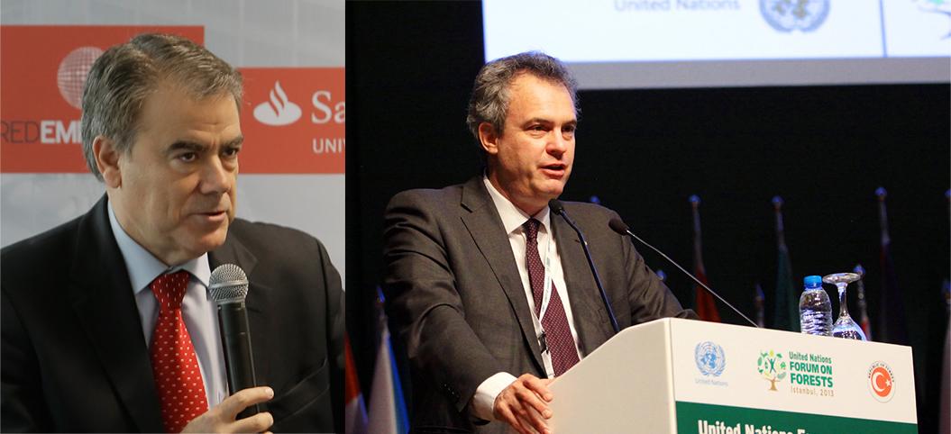 Federico Morán (izda.) y Eduardo Rojas.