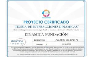 """El Club Nuevo Mundo certifica el proyecto de investigación """"Teoría de Interacciones Dinámicas"""""""